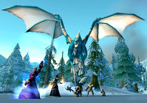 Dragons in World of Warcraft (WoW)